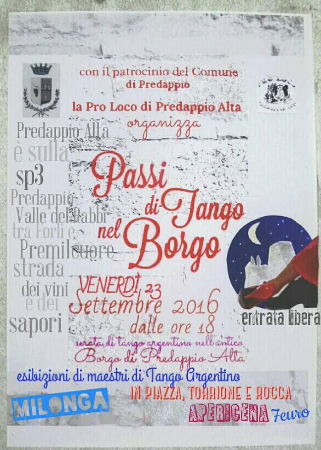 Passi di tango nel borgo