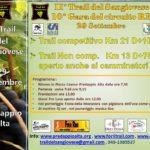 Seconda edizione – Trail del Sangiovese e Festa della Mostatura