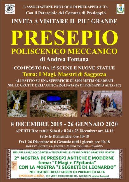Presepe della Zolfatara 2019-2020